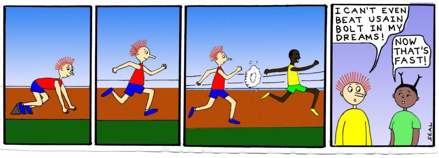 Jimmy Olympics Bolt