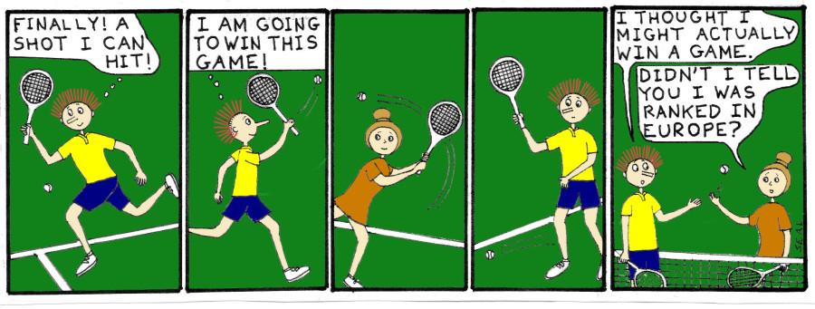 Jimmy Date Tennis Euro